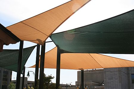 Elvis Presley Restaurant Shade Sails